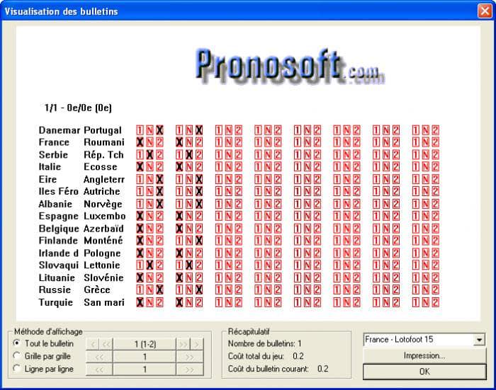 Pronostic loto foot 15 expert - Loto foot grille 7 et 15 pronostics gratuits ...