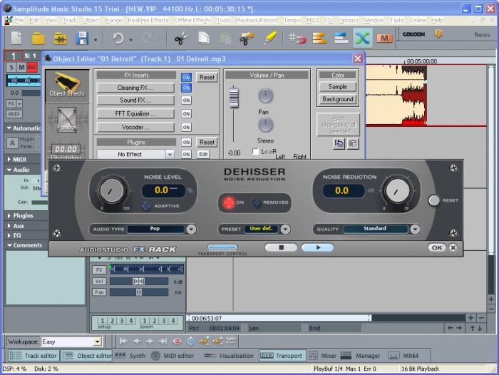Samplitude Music Studio