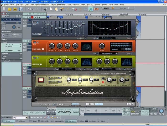 Samplitude Music Studio