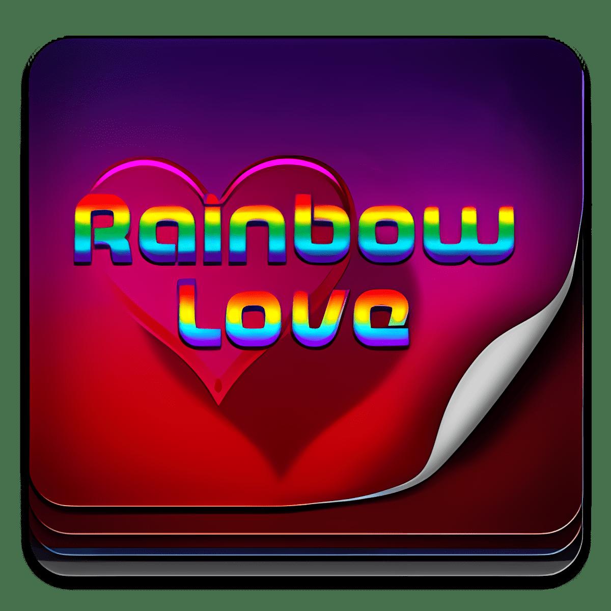 Amor del arco iris Teclado