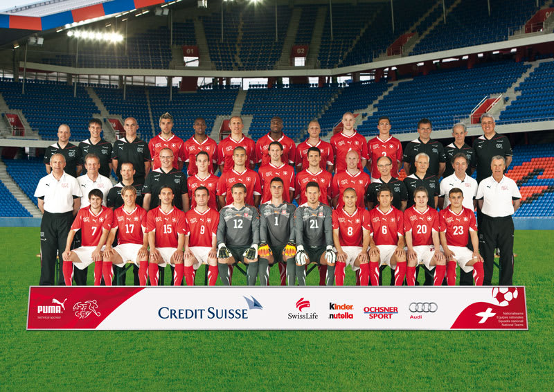 Wallpaper - Equipe nationale de Suisse 2010