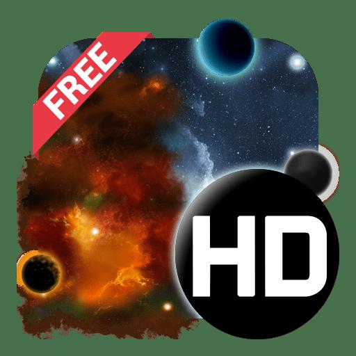 3D Galaxy Live Wallpaper
