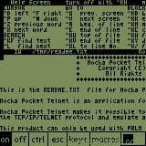 Mocha Pocket Telnet