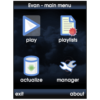 Evan MP3 Player