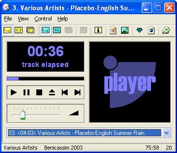 VUPlayer CD Player