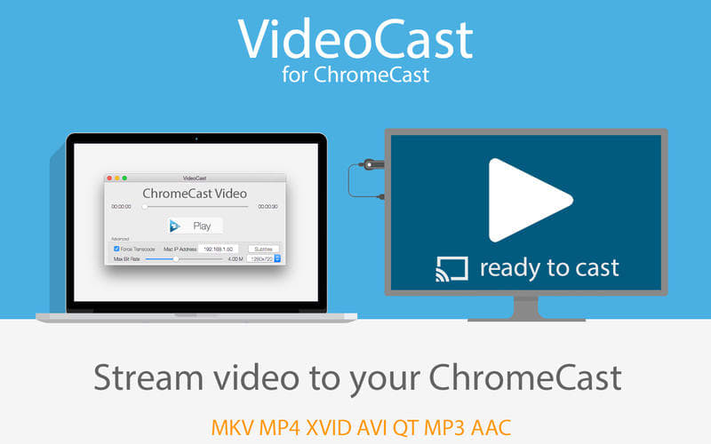 VideoCast for ChromeCast