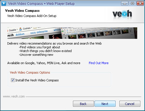 Veoh Video Compass + Web Player