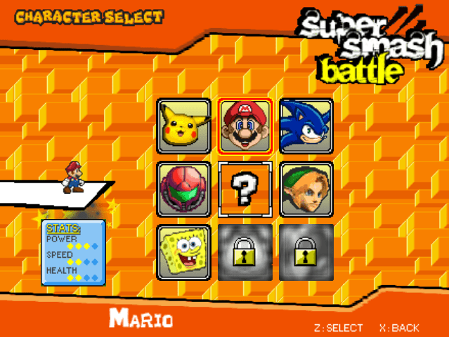 Super Smash Battle 3D