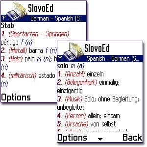 SlovoEd 7650: Alemán-Español