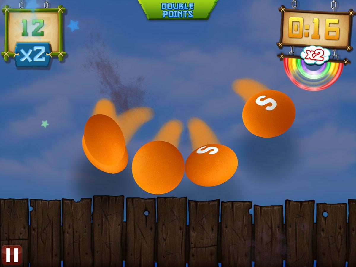 Fruit Ninja vs Skittles