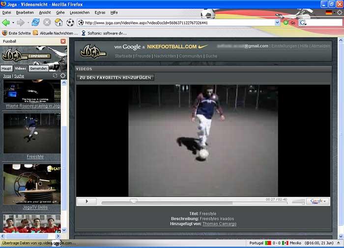 Joga Companion für Firefox