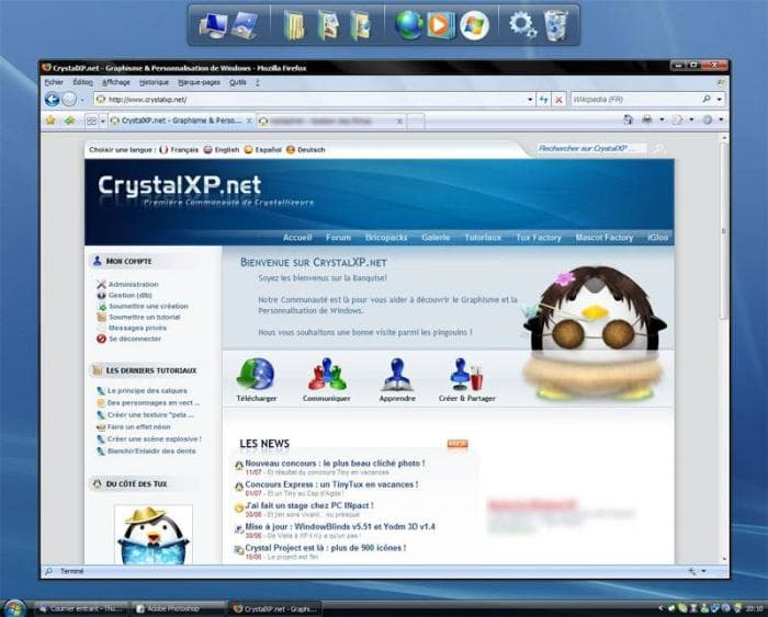Firefox Vista Aero CrystalXP