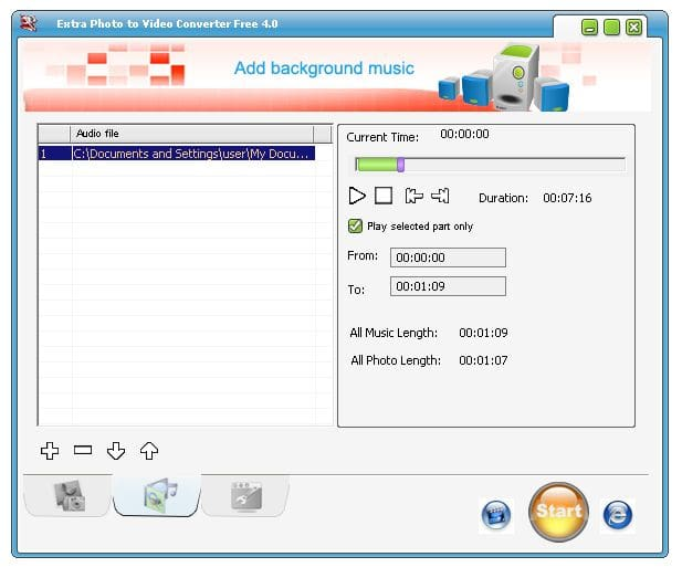 Extra Photo to Video Converter Free