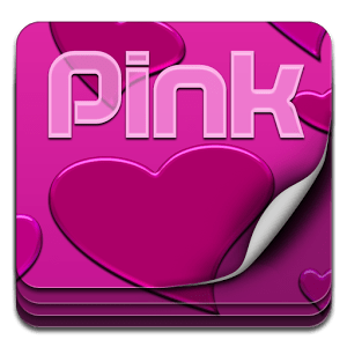 Go Keyboard Pink Love Free
