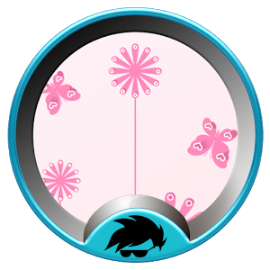 Launcher Theme Pink