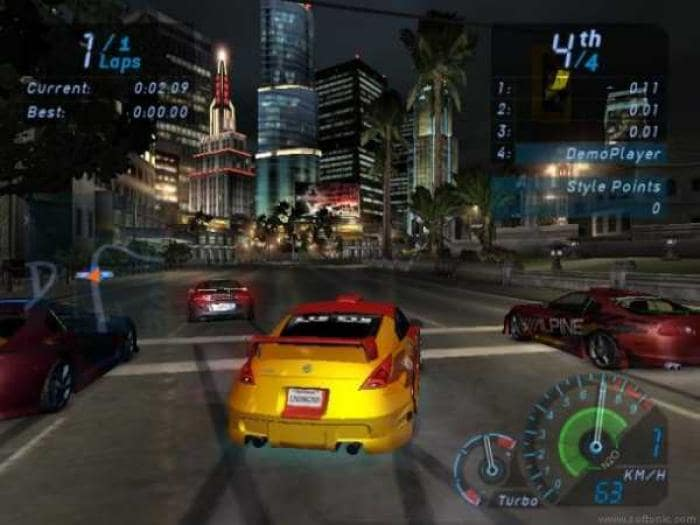Need For Speed Underground Patch