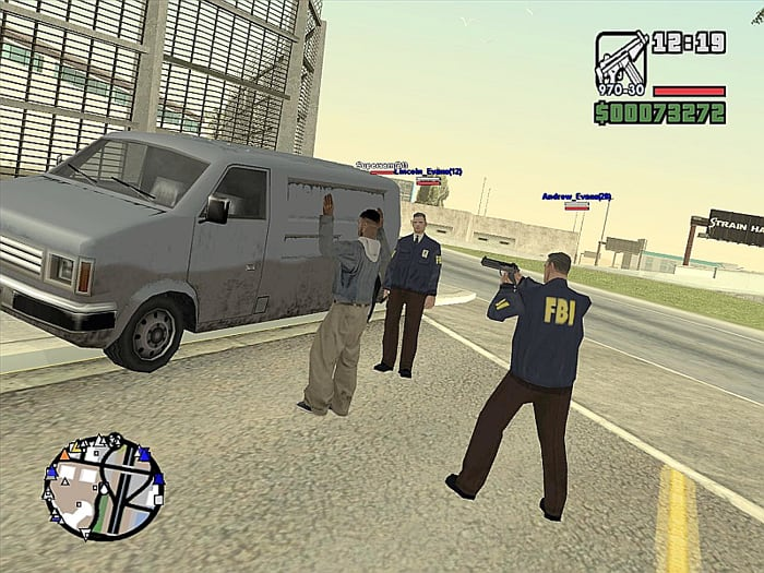 San Andreas: Multiplayer Server