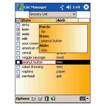 InfoShare List Manager