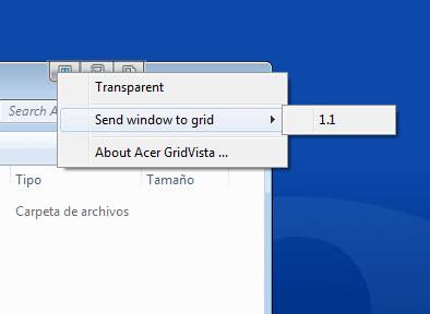 Acer Gridvista