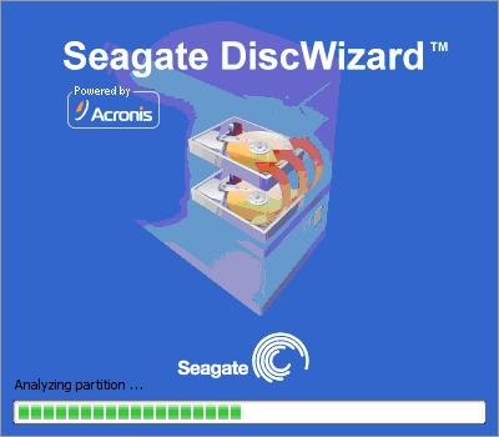 Seagate DiscWizard