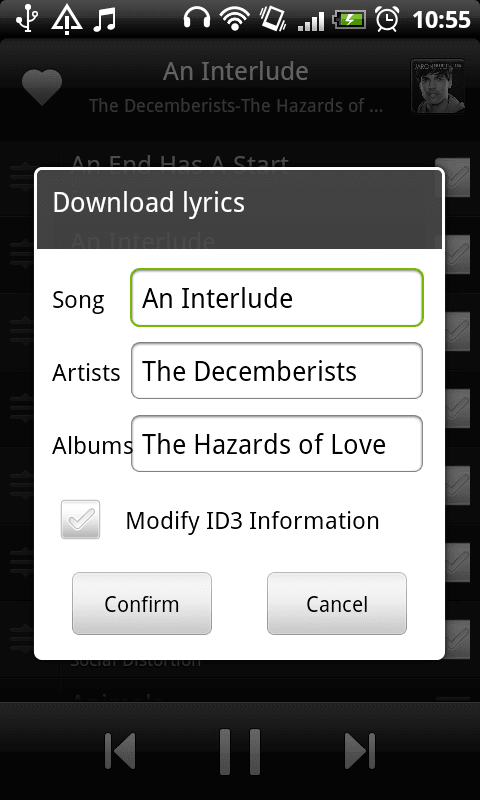 MIUI Music Player