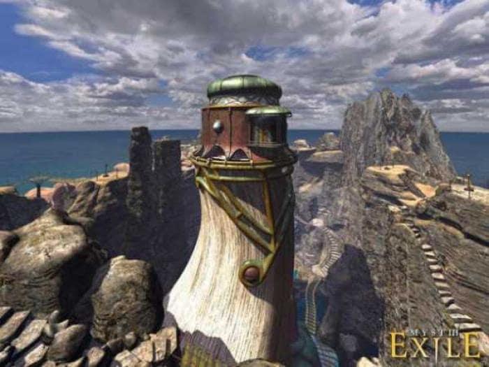 Myst III: Exile Desktop Theme