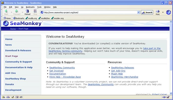 SeaMonkey Portable