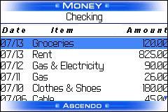 Ascendo Money for Blackberry
