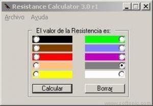 Resistence Calculator