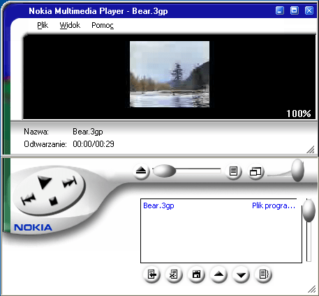 Nokia Multimedia Player