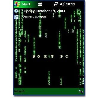 The Matrix Theme