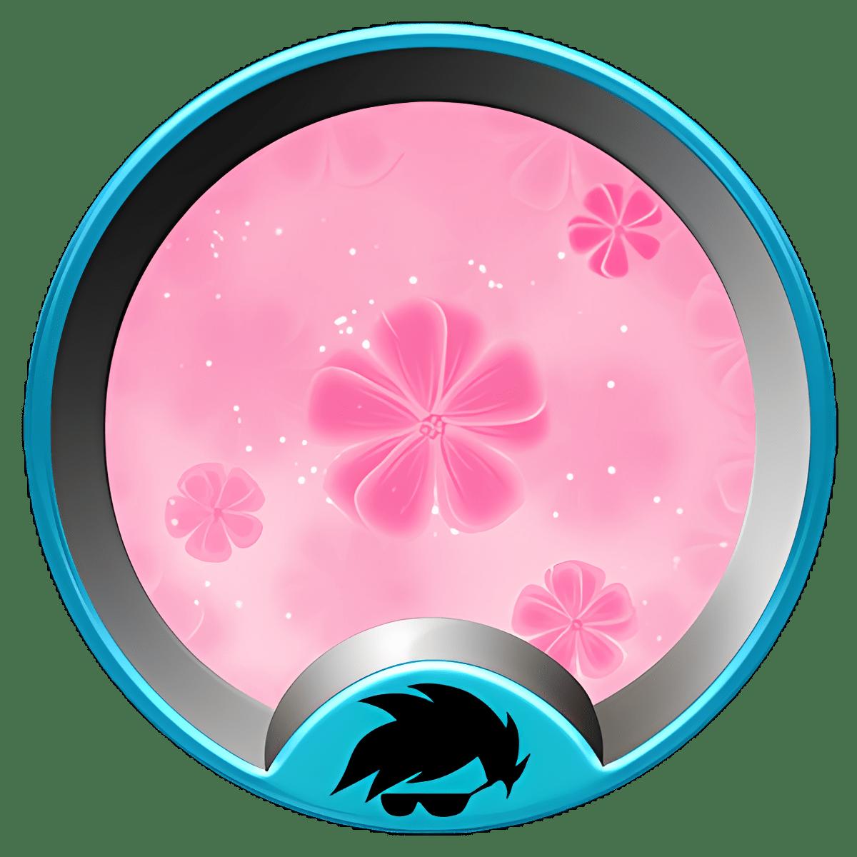 Pink girl GO Launcher Theme