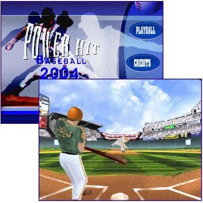 Power Hit Baseball 2004 PLUS