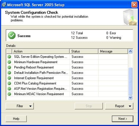 Microsoft SQL Server 2005 Express Edition