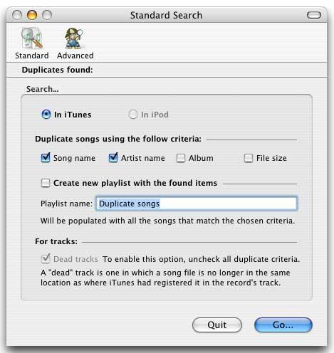 iTunes Dupes Barrier