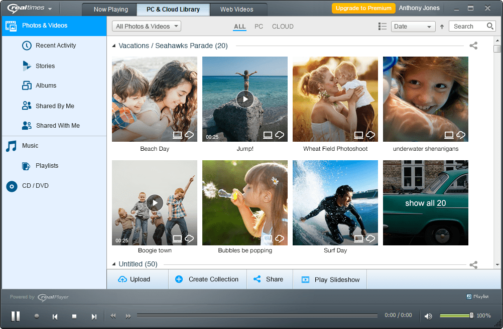 RealTimes (mit RealPlayer)