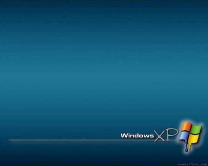 Windows XP Painted Wallpaper