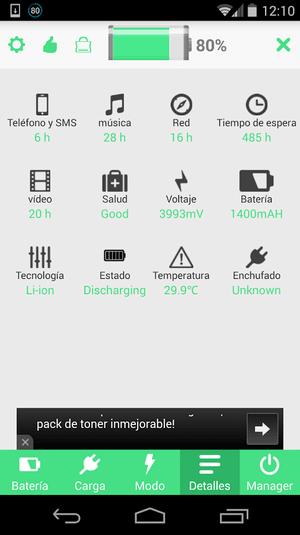 Ahorro de Bateria HD