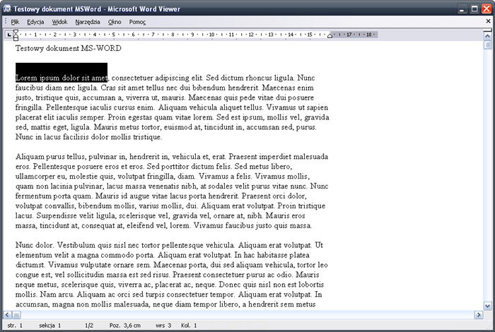 Microsoft Office Word Viewer