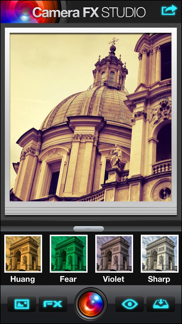 Cámara FX Studio 360 Plus - efectos de cámara, además de editor de fotos
