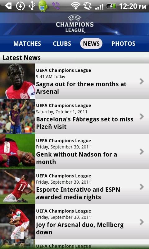 Edizione UEFA Champions League