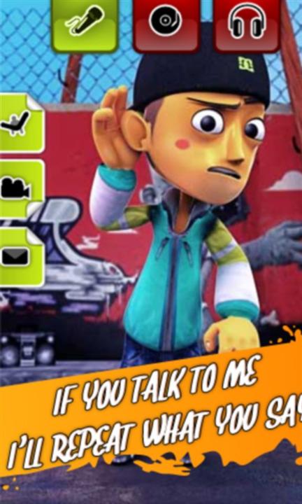 Talking Rapper