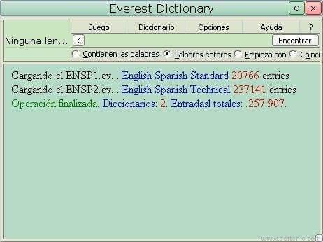 Everest Dictionary