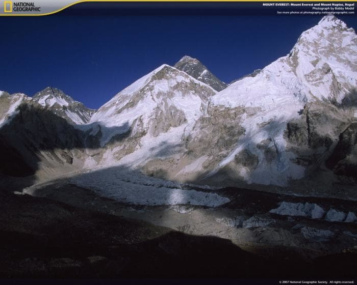 National Geographic Mount Everest Screensaver