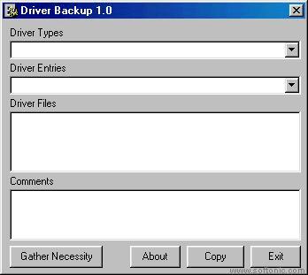 Driver Backup