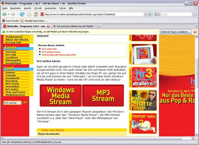 Windows Media Player Plugin