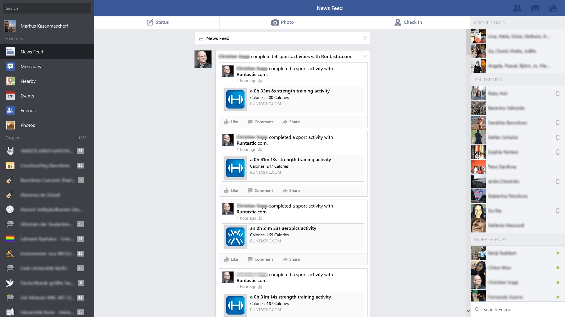 Facebook pour Windows 10