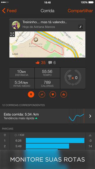 Strava GPS