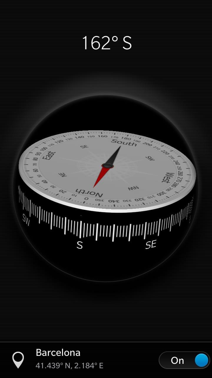 Blackberry Compass
