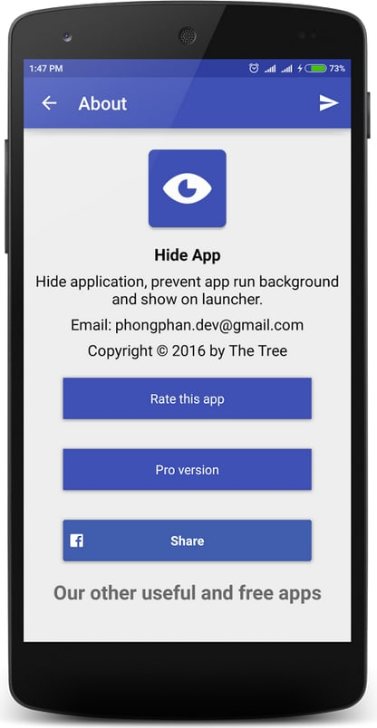 Hide Application